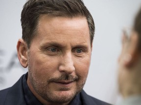 Emilio Estevez on the red carpet for the movie The Public at Roy Thompson Hall during the Toronto International Film Festival in Toronto on Sunday September 9, 2018.