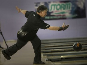 Top seed Rick Vittone cruised to the Senior Division title on Saturday at the 65th Molson Masters at Revs Rose Bowl.