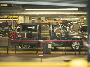 Buyout packages begin going out to FCA Canada workers in Windsor next week. Workers are shown on the line at Windsor Assembly Plant on Friday, May 29, 2020.