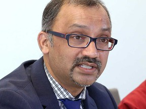 Dr. Wajid Ahmed, Medical Officer of Health with the Windsor-Essex County Health Unit, is seen in a March file photo.