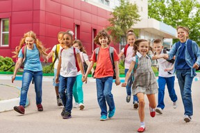 Canadians are torn over the possible return of students to school with a majority fearing for young people's general well-being if they don't, according to a poll.