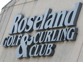 Roseland Golf and Curling Club has opted to cancel curling this year.