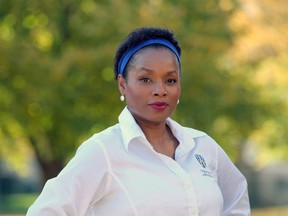 Marium Tolson-Murtty is running the Anti-Black racism task force at University of Windsor.