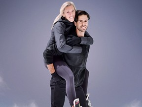 Battle of the Blades, Meghan Agosta and Andrew Poje.