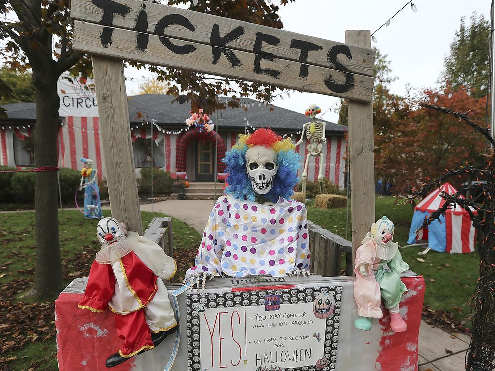 Photos: Spooktacular Halloween displays fright and delight