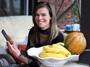 Registered dietician Chantal Hayes is providing health advice on the new PC Health app for people and families who are stressed out at home during the pandemic.