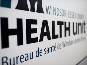 WINDSOR, ONT:. NOVEMBER 17, 2020 - The exterior of the Windsor-Essex County Health Unit is pictured, Tuesday, Nov. 17, 2020.