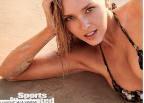 Camille Kostek appears in Sports Illustrated.