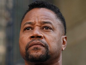 Oscar-winning actor Cuba Gooding Jr., departs his court arraignment in New York on October 15, 2019, where new charges are to be unsealed on his sexual assault case.