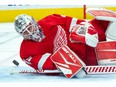 Detroit Red Wings goaltender Jonathan Bernier is headed to free agency, but open to returning to the club next season.