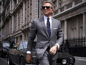 Daniel Craig in a scene from No Time to Die.