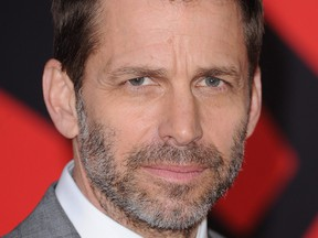 Zack Snyder arrives for the European Premiere of 'Batman V Superman: Dawn of Justice' at Odeon Leicester Square on March 22, 2016 in London.