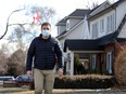 Looking for answers. Ward 2 Coun. Fabio Costante is shown Monday, March 1, 2021, in the 300 block of Askin Boulevard where homeowners near the University of Windsor strongly support a residential rental licensing system.