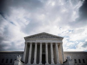 (FILES) In this file photo The Supreme Court Building is seen on Decmeber 24, 2018 in Washington DC.