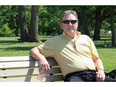 """Essex Coun. Chris Vander Doelen takes in a beautiful afternoon at Sadler Pond Park in June 2019. Vander Doelen has come under fire for referring to the """"China flu"""" on social media."""