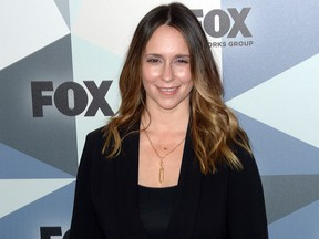 Jennifer Love Hewitt arrives at Wollman Rink in Central Park May 15, 2018.