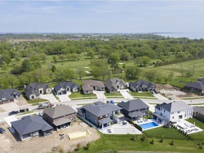 New subdivisions, like this one near the lakeshore, continue to expand into former farmlands in Leamington. Even the municipality is warning developers to keep an eye (and nose) open for potential old wells lurking below the surface.