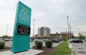 The exterior of the Met Campus of Windsor Regional Hospital is shown in this April 2012 file photo.