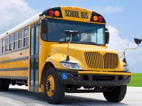 Two more independent school bus operators went out of business last month due to a bidding process that puts smaller outfits at a disadvantage, operator Sherry Barker says.