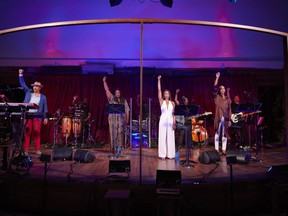 The performers from the Stratford Festival's Freedom Cabaret. David Hou/Stratford Festival