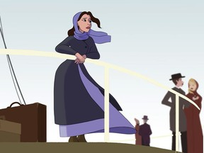 An image from the music video for Windsor recording artist Crissi Cochrane's single Why, animated by Delaney Beaudoin.