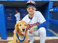 Rookie the Bat Dog has apologized for running onto the field during a Buffalo Bisons game.