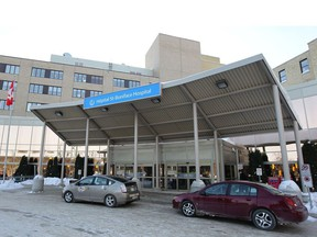The St. Boniface hospital isn't currently set up to handle the influx of patients when other city ERs close.