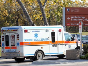 Transfer of ambulance service from the city to the province could cost jobs, save money. BRIAN DONOGH/WINNIPEG SUN/QMI AGENCY