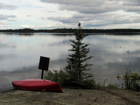 Two areas have been closed for the safety of canoeists and back country travellers and campers.