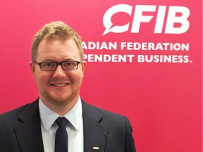 Jonathan Alward is the Manitoba director of provincial affairs with the Canadian Federation of Independent Business (CFIB).