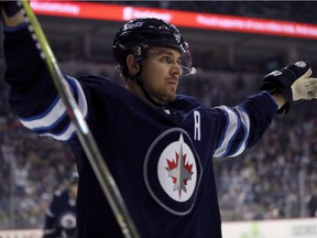Jets centre Mark Scheifele is listed as day-to-day.