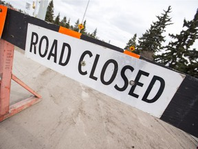 Sargent Avenue will have lane closures in place until August.
