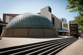 The Planetarium at the Manitoba Museum. Photo by The Winnipeg Architecture Foundation.