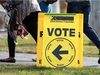 CALGARY, ; OCTOBER 19, 2015  --  It was a beautiful day in Calgary to get out and vote in the Federal election on Monday, October 19, 2015. The polling station at Stanley Jones school saw a steady stream of voters.  (Lorraine Hjalte/Calgary Herald) For news story by . Trax # 00069426A