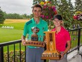 Kate Gregoire of Quarry Oaks Golf Course and Jacob Armstrong of St. Boniface Golf Club to capture the 2019 Golf Manitoba Junior Women's and Men's Championships. Bob Poole/Golf Manitoba