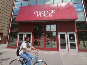 Some city councillors are looking for support for a proposed $11.3 million funding arrangement to redevelop Portage Place Mall.