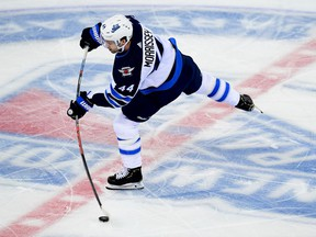 Winnipeg Jets defenceman Josh Morrissey will tee it up at the Manitoba Open this summer at the Southwood Golf Club. Emilee Chinn/Getty Images file