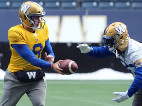 Stars like quarterback Zach Collaros and running back Andrew Harris are among the returnees when the Blue Bombers start training camp on Saturday.