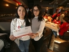 Adrienne  san Juan, stem cell territory manager, Canadian Blood Services (left) with Theresa Cianflone, in Winnipeg.  Theresa is looking for a matching stem cell donor, she has a rare blood disorder that has seriously impacted her health.   Saturday, December 21/2019 Winnipeg Sun/Chris Procaylo/stf