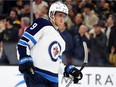 If Blake Wheeler can't go against the undefeated Minnesota Wild, Andrew Copp will take his spot on top line.