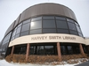 Library hours are changing as a result of the civic budget, this is the Harvey Smith Library, on Sargent Avenue, in Winnipeg.  Friday, March 06/2020 Winnipeg Sun/Chris Procaylo/stf