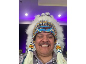 First Nation Chief Cornell McLean is seen in a handout photo.