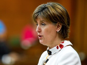 Federal Agriculture and Agri-Food Minister Marie-Claude Bibeau.