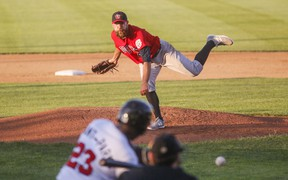 Goldeyes starter Mitchell Lambson allowed just one earned run over seven-plus innings in a no-decision.