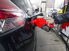 Gas prices are sky-high thanks in part to the Liberal government's carbon tax.