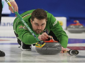 Matt Dunstone says 'I think the Brier and the Scotties are going through a serious identity crisis.'