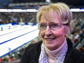 Kate Caithness is president of the World Curling Federation.