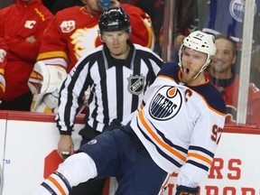 Edmonton Oilers centre Connor McDavid has been the best player, by far, this season. But wait until he reaches his prime ... JIM WELLS/POSTMEDIA