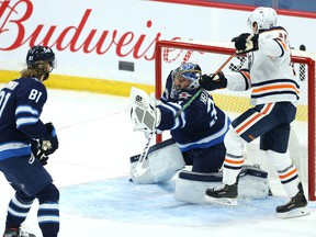 The Jets have a shot to beat the Oilers if Connor Hellebuyck is at the top of his game.