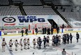 The Winnipeg Jets will once again be playing home games in an empty arena in Round 2.